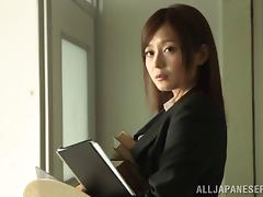 Boss, Asian, Boss, Couple, Fingering, Fucking