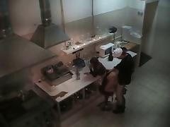 Chief Fucking Slutty Chick In The Kitchen!