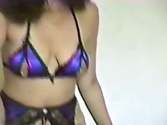 Vintage Crotchless Panties