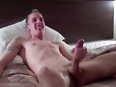 Puppy Getting his 12 inch Dick Sucked