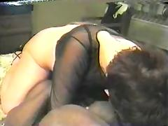 Black Granny, Amateur, Banging, Black, Brunette, Cuckold