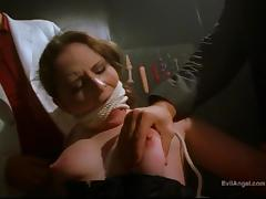 Extraordinary bdsm bang scene with a naughty porn hottie in action