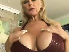 Granny, Big Tits, Blonde, Boobs, Fucking, Granny