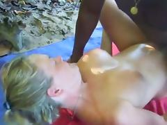 Wife Fucked by Black Dude at the Beach.