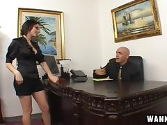 Satin, Couple, Hardcore, Nude, Office, Penis