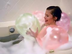 Balloon, Balloon, Bath, Bathing, Bathroom, Fetish