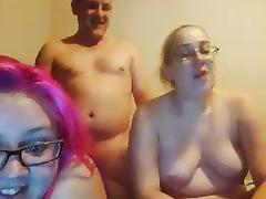 Daddy, BBW, Blowjob, Chubby, Chunky, Double