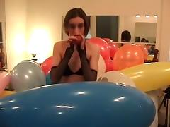 Balloon, Balloon, Blowjob, Cute, Fetish, Pretty