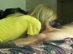 Blonde CD fucked at motel