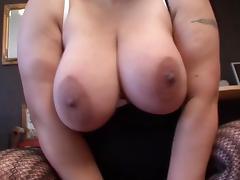 Black hair and big tits