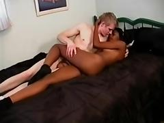 White Dick and Hot Ebony Wife
