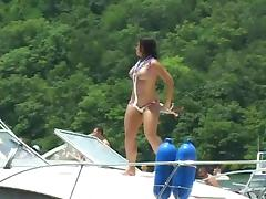 Boat, Amateur, Big Tits, Bikini, Boat, Party