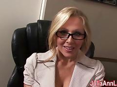 Milf Julia Ann Dreams About Sucking Cock!