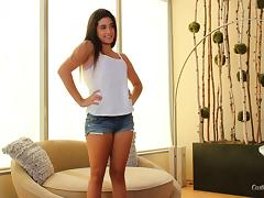 In an audition she gets hardcore on the casting couch