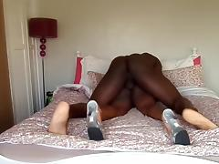 Amateur Ebony Wife Fuck In Ass And Scream - LostFucker