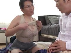 Asian Mature, Asian, Couple, Erotic, Glamour, Glasses