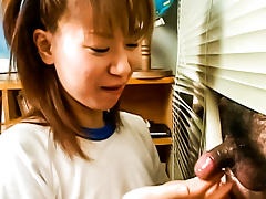 Amazing Japanese chick in Hottest JAV uncensored Cumshots clip