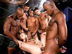 Race Cooper & Tyson Tyler & Shawn Wolfe & Dato Foland & Boomer Banks in Into Darkness Video