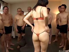 Bra, Asian, Bra, Gangbang, Hardcore, Japanese