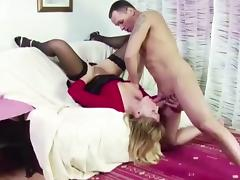 Step-Son Caught MILF Mother Masturbate and Help With Fuck