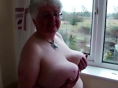Grandmothers feeding their vaginas