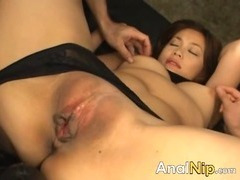Nice toys in both of her chinese holes