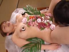 Japanese, Asian, Couple, Fetish, Food, Hardcore