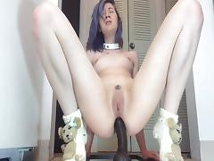 Anal dildo action horny