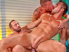 Fabio Stallone & Tomas Brand & Logan Rogue in Stripped 2: Hard For The Money, Scene #01