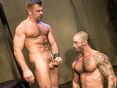 Bruno Bond & Junior Stellano in The Trap, Scene #01