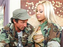 Army, Army, Big Tits, Blonde, Cop, Fantasy