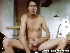 John Holmes in The Golden Age Of Gay Porn - Two Large To Handle Scene 5 - Bromo