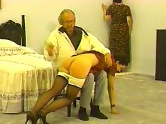 B and A get Spanked