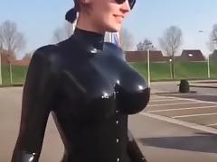 Catsuit, Boobs, Catsuit, Latex, Tits