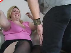 Long hair matured bbw closeup ravished missionary