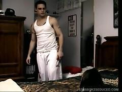 Barebacking Straight Boy Buzz Ass
