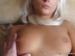 Hot Russian couple play with vibrator