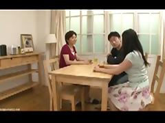 Mom and Boy, 18 19 Teens, Japanese, Mature, Mom, Teen
