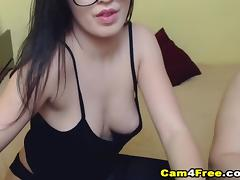 Nerdy Teen Gets Fucked In Her Asshole