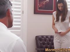 Teen watched masturbating