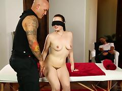 Blindfolded, Babe, Blindfolded, Blowjob, Cowgirl, Cuckold