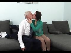 Big Tits, Big Tits, Blowjob, Boobs, Grandpa, Old Man