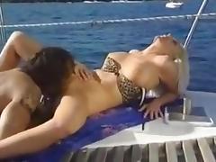 Boat, Blonde, Boat, Fucking, Hardcore, Yacht
