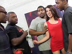 Anal Slut Tiffany Doll Loves DP Gangbang And Big Black Cock