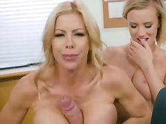 All, Blonde, Blowjob, Facesitting, Facial, Ffm