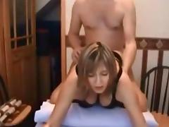 Big Tits getting excited milf