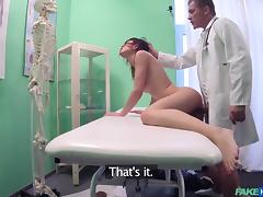 Babe, Babe, Blowjob, Brunette, Cunt, Doctor