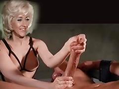 British, British, Handjob, Big Natural Tits