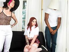 Chloe Carter & Isiah Maxwell in Chloe Carter's First Black Cock - BurningAngel