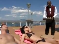 Boat, Boat, Couple, Interracial, Yacht, Big Black Cock